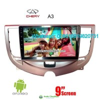 Chery A3 Car audio radio update android GPS navigation camera