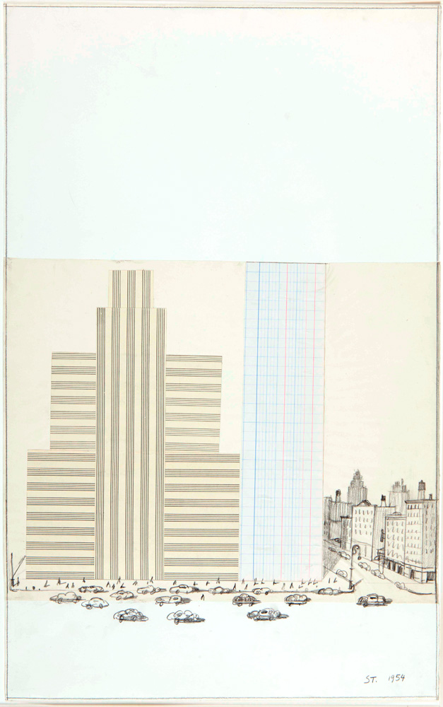 Graph  Music Paper - Saul Steinberg Foundation