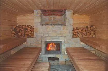 Sauna Heaters Wood Burning Facias