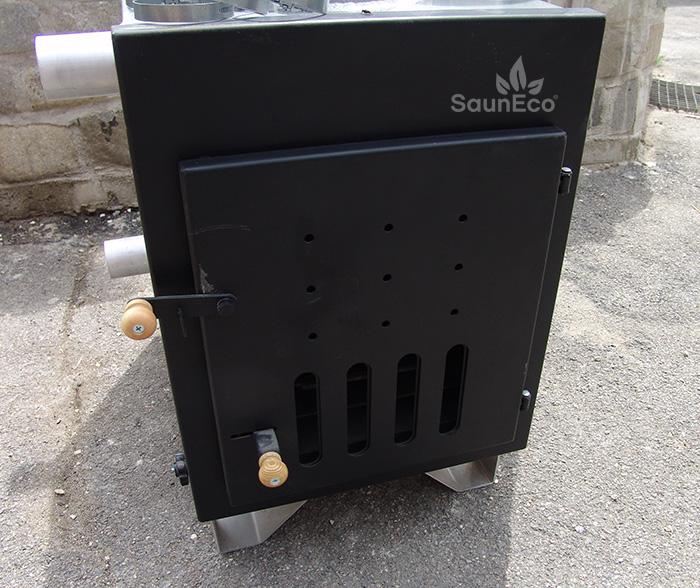 External Woodburning Hot Tub Furnace (40kW)