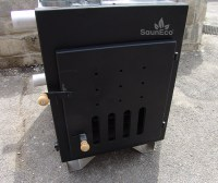 External Woodburning Hot Tub Furnace (40kW)