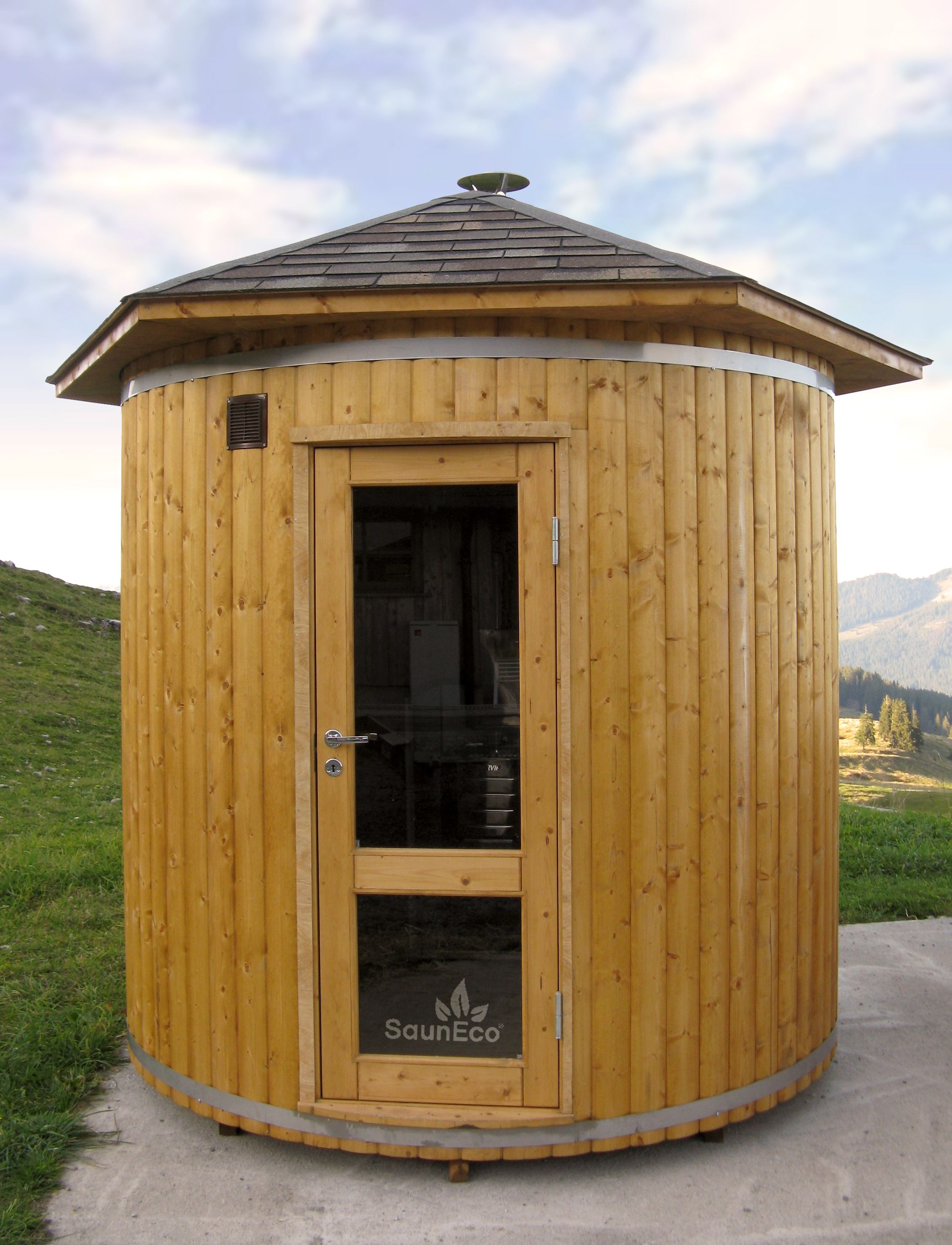 Sauna Shop 24 Spacious Garden Sauna With A Wood Burning Heater Fast