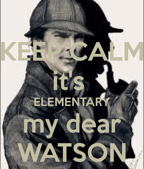 Sherlock Holmes Wallpaper With Quotes 36 Likely That Sherlock Said Elementary My Dear Watson