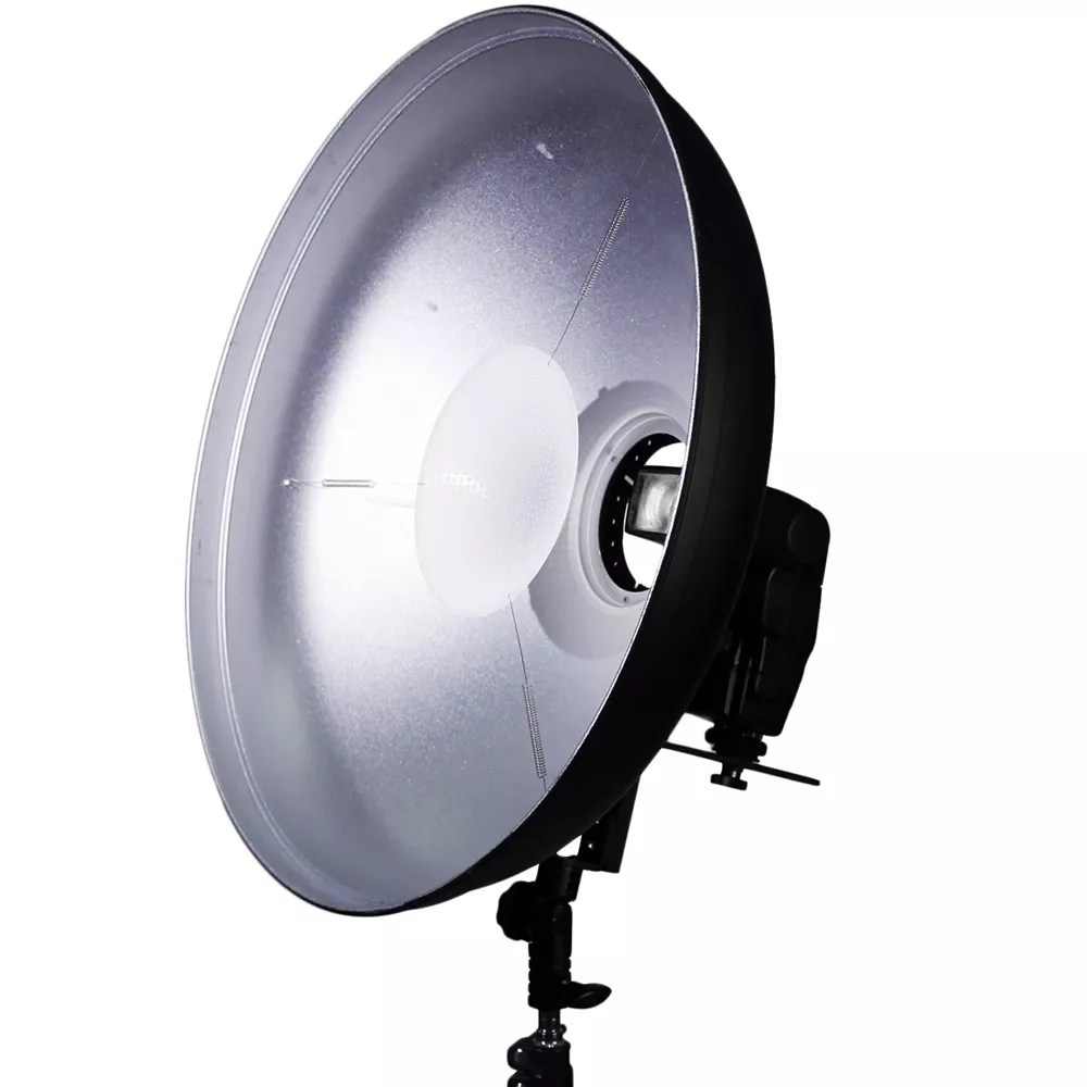 "Professional Lighting Kit For Video Speedlight Beauty Dish (20"") 