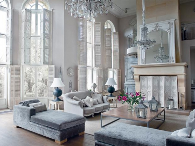 Interior decorating in the traditional style savannah