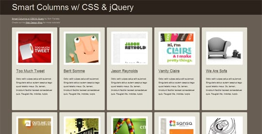 smartcoloms 20 Best And Highly Useful jQuery Tutorials For Designers And Beginners