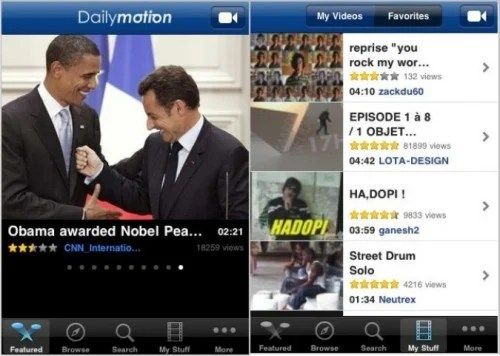 Daily Motion Top 6 Free iPhone Apps to Watch TV Shows and Movies Online