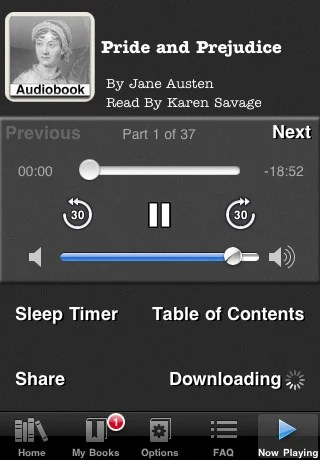 audiobooks 42 Best And Free iOS 4 Apps For Your iPhone
