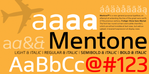 mentone e1279955680523 25 High Quality And Creative Fonts For Free Download