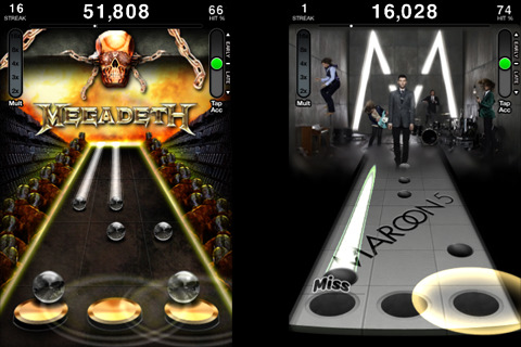 tap tap revenge 42 Best And Free iOS 4 Apps For Your iPhone