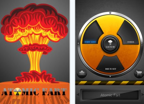 atomic fart app 3 8 Best Free Hilarious iPhone Apps To Make You Laugh