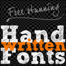 45 Creative Handwritten Fonts For Free Download