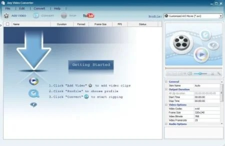 Any Video convertor 13 Best Windows Video Converters For Free Download