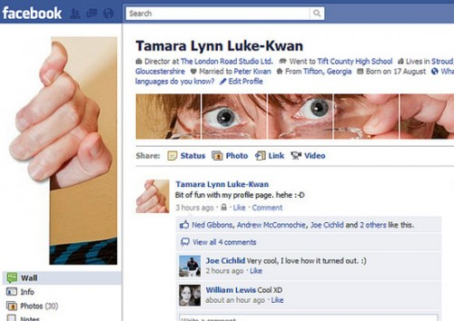 new facebook profile hack32 e1293999650972 35 Most Amazing And Creative Examples Of New Facebook Profile Page Design