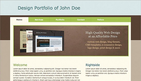 best free drupal theme38 e1300087374767 40 High Quality Drupal Themes For Free Download