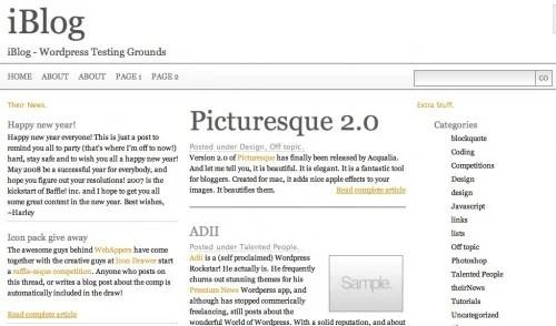 screen capture 11 e1299565779667 8 Fantastic Tutorials On How To Build Your Own Custom WordPress Theme