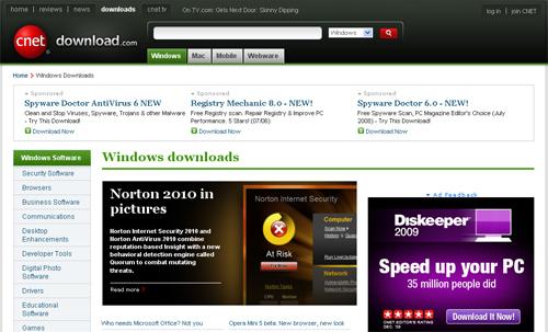 downloadcom Top 10 Best Free Software Download Sites