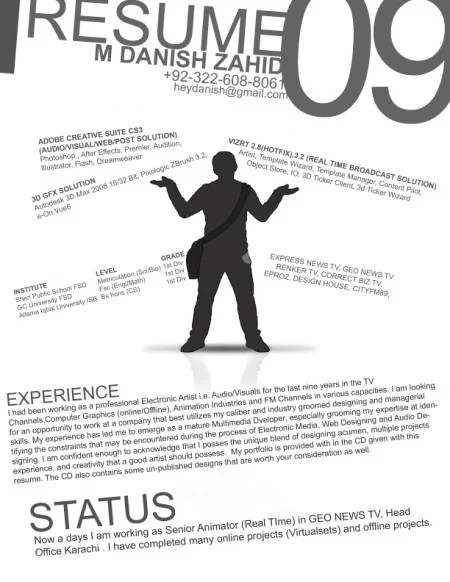 174 e1269806755855 100 Most Creative Resume Examples for Inspiration