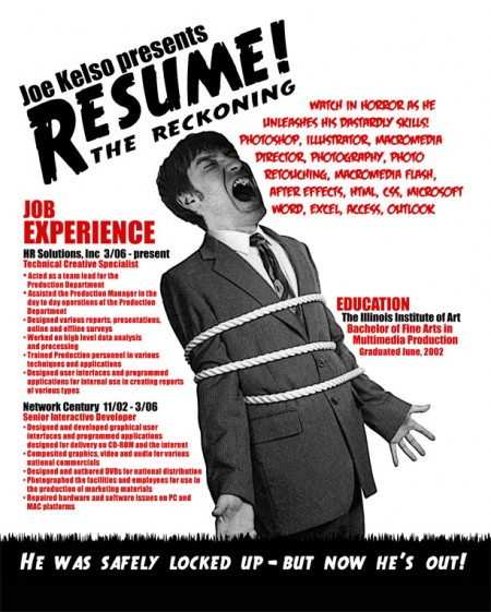 265 e1269809106277 100 Most Creative Resume Examples for Inspiration