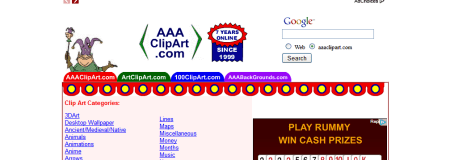 AAAClipArt.com  450x160 Free Clip Art   Best Sites that Provide Clip Art for Free