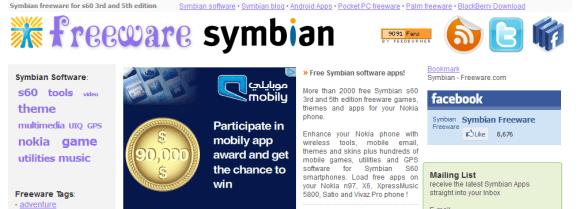 Freeware for Symbian