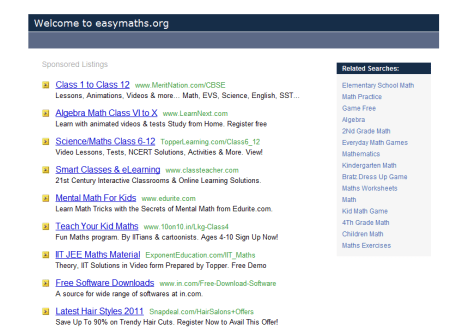 at Easymaths.org  450x330 25 Great Websites For Learning Maths