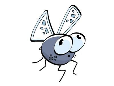 cartoonbug fly 80 Excellent Adobe Illustrator Cartoon Tutorials