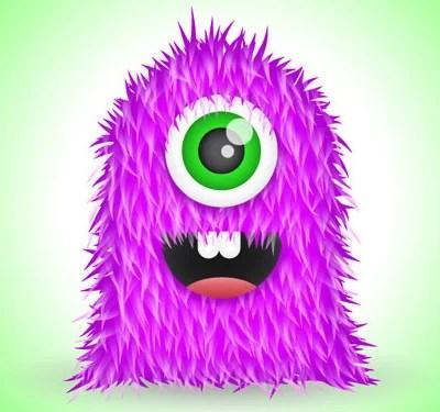 furry vector monster 80 Excellent Adobe Illustrator Cartoon Tutorials