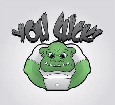 grumpy troll character 80 Excellent Adobe Illustrator Cartoon Tutorials