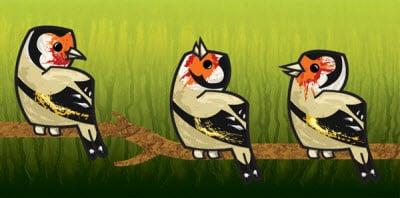 textured european goldfinch 80 Excellent Adobe Illustrator Cartoon Tutorials