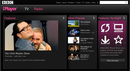 BBC 450x246 Best Entertainment Websites On The Web in 2011