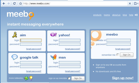 meebo Best Entertainment Websites On The Web in 2011
