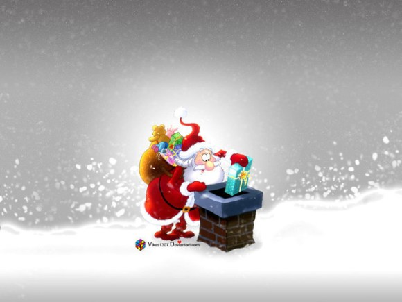 christmaswallpapers77 580x435 50+ Beautiful Christmas Wallpapers for your Desktop