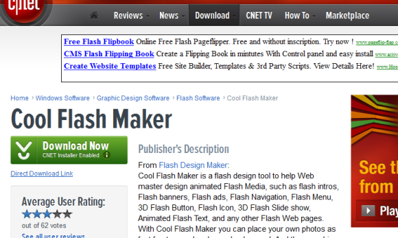 flashmaker 580x347 21 Best 2D Animation Software for Free Download (Windows)