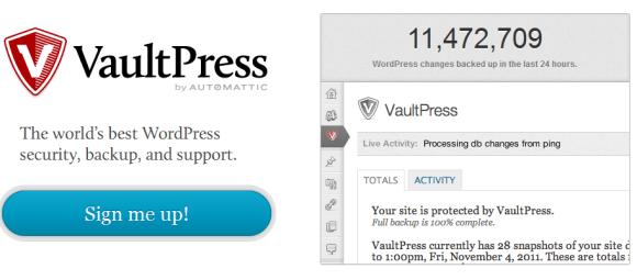 vault 580x255 Best WordPress Plugins for Backup and Optimization