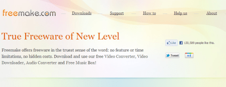 Freemake Best Freeware Alternatives To Paid Video Software 450x174 5 Best Free Audio   Video Format Conversion Software