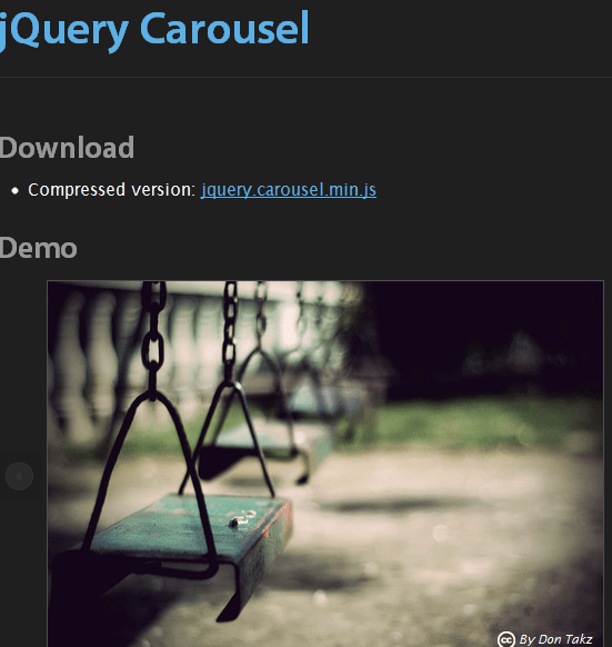 jquery carousel 43 Best jQuery Carousel Sliders, Plugins, Tutorials and Examples