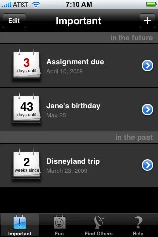 15 5 Best iPhone Apps for Setting Countdown and Reminders