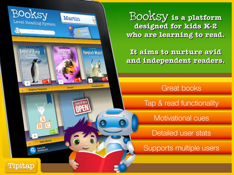 booksy 20 Awesome iPad Apps That Will Teach Your Kids to Read