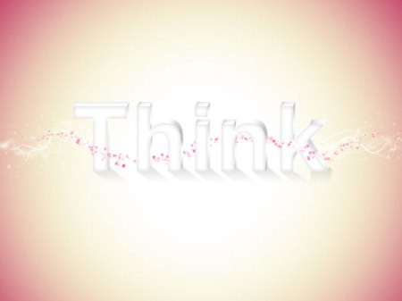 think text 3d tut 450x337 20 Best 3D Typography Tutorials   Part 1