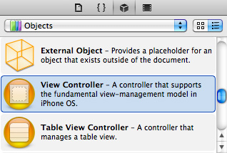 08 view controller object How to Make An App for iOS Platform With Simple Steps