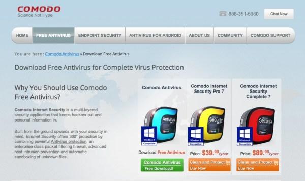 Comodo Antivirus 600x356 10 Most Advisable Free Antivirus Software