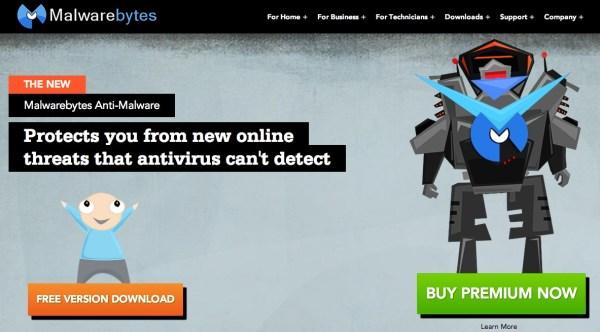 Malwarebytes Anti Malware Free 600x332 10 Most Advisable Free Antivirus Software