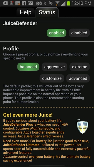 Juice Defender 100 Best Free Android Apps for Superusers