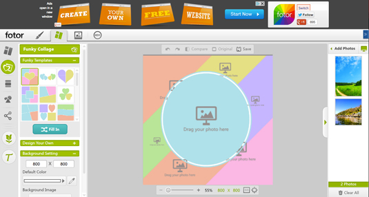 fotor 10 Best Picture Collage Maker for Easy Photo Editing