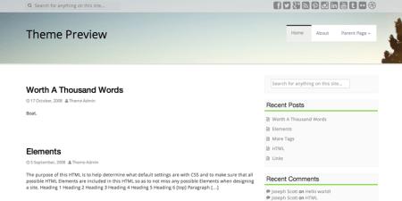 Aldehyde 450x225 75 Best Free Wordpress Themes of 2014 Till July