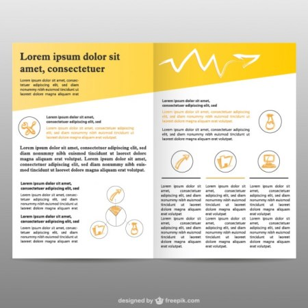 Brochure pages background free