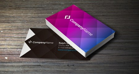 Corporate Business Card Template 450x239 75 Best Free Business Card Templates Worth Downloading