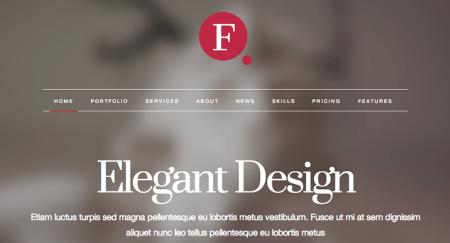 Finale 450x243 75 Best Free Wordpress Themes of 2014 Till July