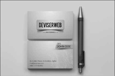 Free Premium Business Card Template